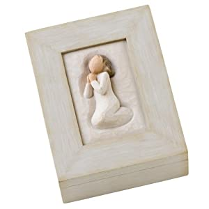 Willow Tree Prayer Memory Box