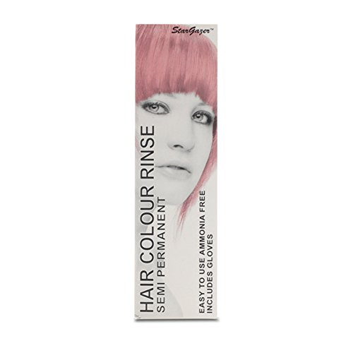2 x Stargazer Semi Permanent Baby Pink Hair Colour Dye (Stargazer Hair Color compare prices)