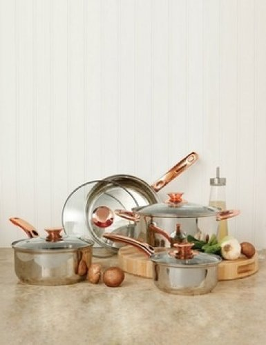 Sunbeam 91344.08 Ansonville 8-Piece Cookware Set