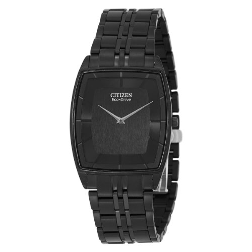 Citizen Men's AR3025-50E Eco Drive Black Plated Watch