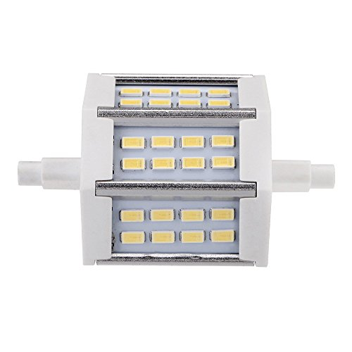 Docooler® R7S 6W Led 24 5730 Smd Flood Light Bulb Lamp Energy Saving 85-265V Warm White