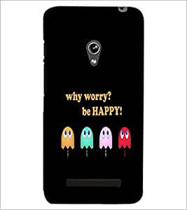 PrintDhaba Quote D-3740 Back Case Cover for ASUS ZENFONE 5 A501CG (Multi-Coloured)