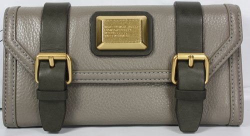Marc by Marc Jacobs Saddlery Continental Wallet Putty