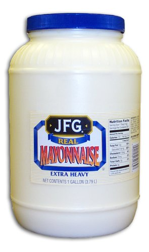 JFG Extra Heavy Mayonnaise, 128-Ounce