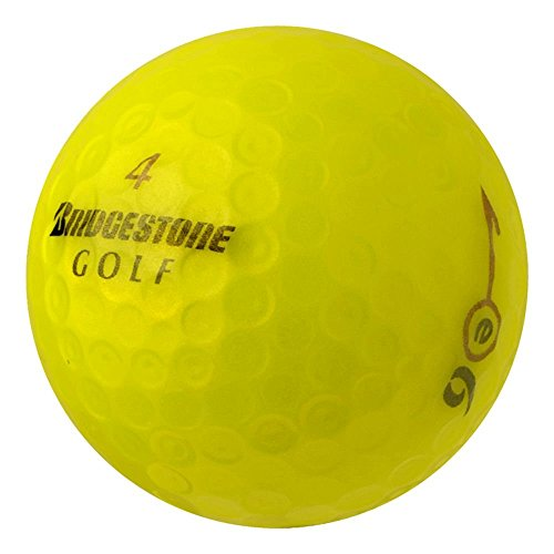 pearlgolf-50-bridgestone-e6-2012-13-aaaa-gelb-lakeballs-gebrauchte-golfballe