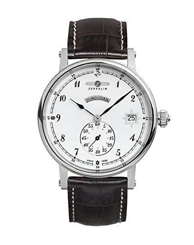 Zeppelin Watches Damen-Armbanduhr XS Analog Quarz Leder 7543-1