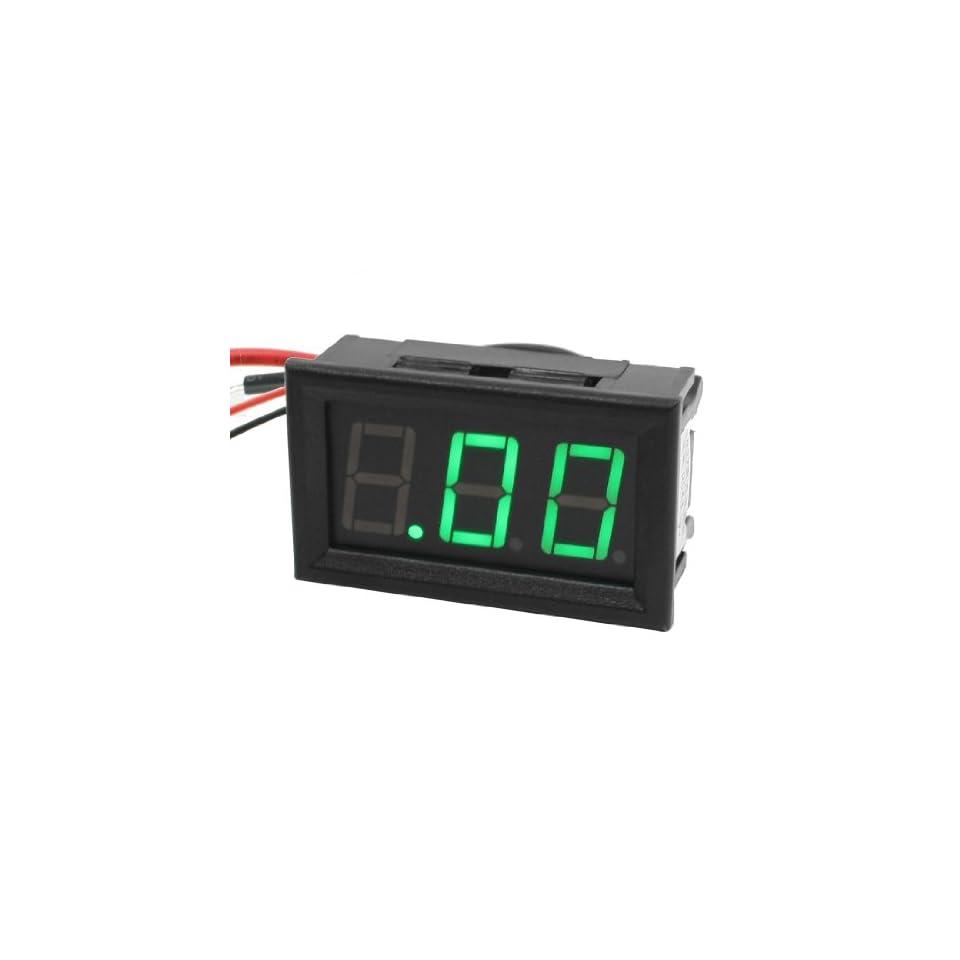7 Segment LED Digital Display 4 Wires Ammeter Amperemeter DC 0 10A