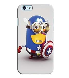 Clarks Minon In Avenger Hard Plastic Printed Back Cover/Case For Apple iPhone 6 Plus