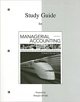 managerial accounting guide Managerial accounting solutions manual 2018-2019 edition [larry m walther]  on amazoncom free shipping on qualifying offers this managerial.