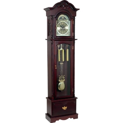 Best Quality Grandfather Clock By Edward Meyer™ Grandfather Clock with Beveled Glass