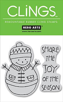 Share The Joy - Rubber Stamps - 1