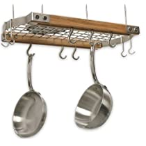 Mini Gray Oval Hanging-Rack