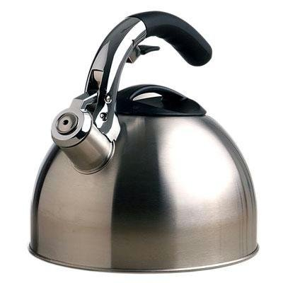 Epoca, Primula Soft Grip Kettle 3 Qt (Catalog Category: Kitchen & Housewares / Coffee Makers)