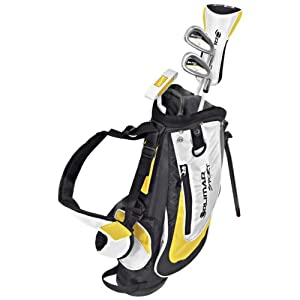 Orlimar VT Sport Junior Complete Golf Set (White/Yellow, Ages 5 and Under, Right Hand, Driver, 5/6 Iron, 6/9 Iron, Putter)
