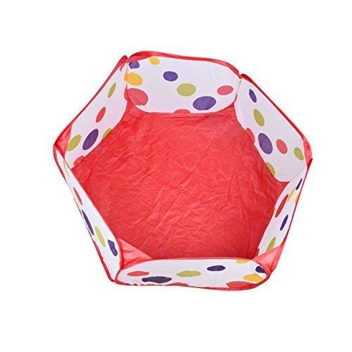 Newcomdigi Plegable Piscina de bolas de juego juguete para niños niñas para exterior y casa Parque de Bolas Bolsa con Cremallera 40 pulgadas
