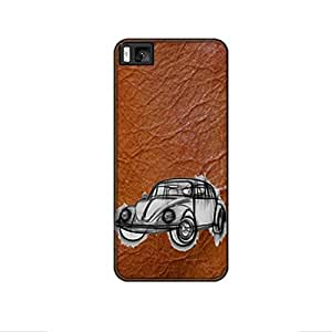 Vibhar printed case back cover for Xiaomi Mi 4i BeetleSketch