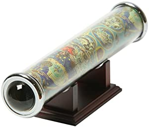 G.W. Schleidt KS110-16 Kaleidoscope Acrylic With Base Astrological Signs Motif