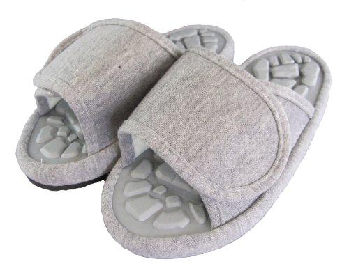 DO-de-zapatillas-de-salud-Funami-buen-rock-gris-talla-L-26-28cm-2070-japn-importacin