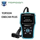 HITSAN TOPDON OBDCAN Plus 2.0-D OBD2 Scanner Automotive Car Code Reader Scan Tool Pro 2018 Scaner OBDII as CR6001 AL519 OBD Diagnostic