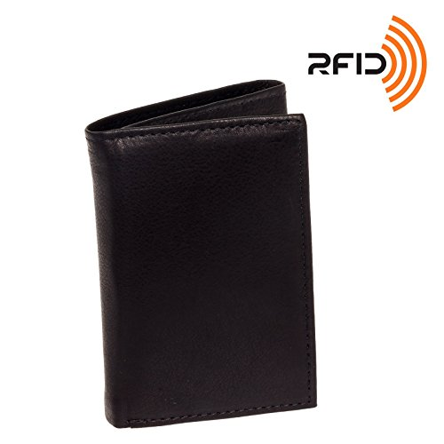 mens-top-grain-cowhide-leather-rfid-trifold-wallet-ross-michaels-black
