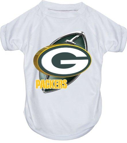 Hunter MFG Green Bay Packers Performance T-Shirt, Small hunter mfg los angeles angels dog collar extra small