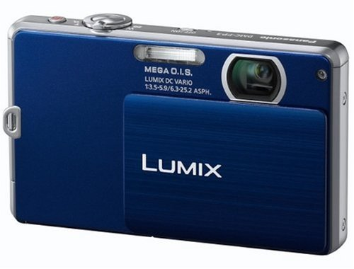 Panasonic Lumix FP3 Digital Camera - Blue (14.1MP, 4x Optical Zoom) 3 inch Touchscreen LCD