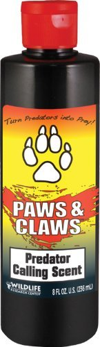 Wildlife Research 524 Paws and Claws Predator Calling Scent (8-Fluid Ounce)