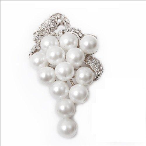 Fashion Trendy Pearl Brooch #024133