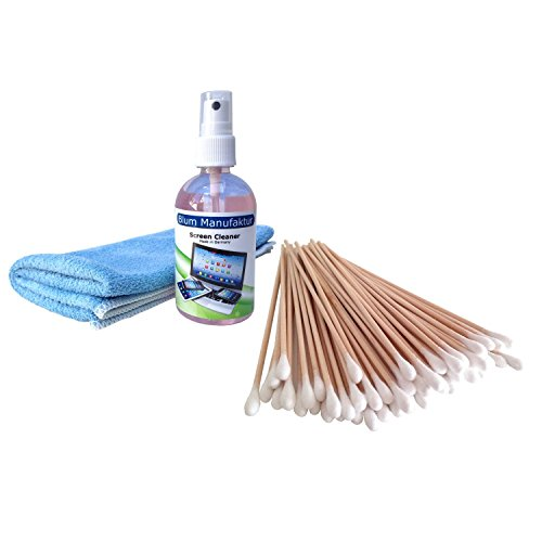 blum-kit-100ml-screen-cleaner-50-cleaning-swabs-microfibre-cloth-ca-40x40-cm-ideally-suited-for-clea