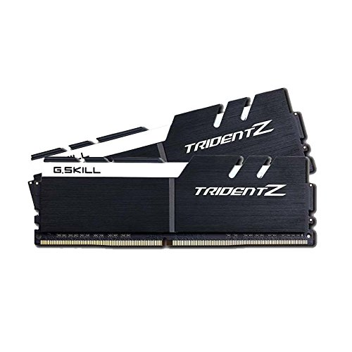 G.SKILL 16GB (2 x 8GB) TridentZ Series DDR4 PC4-25600 3200MHz For Intel Z170 Platform Desktop Memory Model F4-3200C16D-16GTZKW
