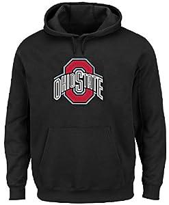 Ohio State Buckeyes College Logo Hoodie Sweashirt by J. America by J. America