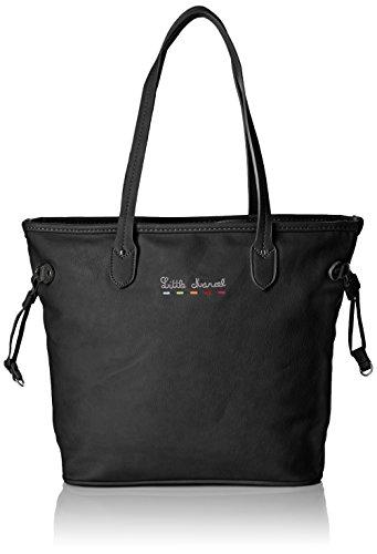 little-marcel-ligne-3-en-1-celia-cabas-noir-black-taille-unique