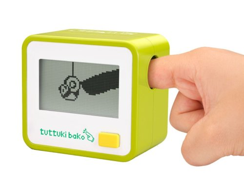 Bandai Tuttuki Bako Virtual Finger Game (Green)