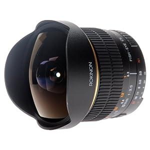 Rokinon FE8M-N 8mm F3.5 Fisheye Lens for Nikon