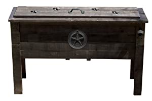 Lifoam 13651 87-Quart Texas Star Double Wooden Cooler