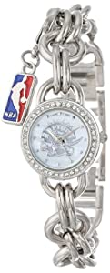 Game Time Ladies NBA-CHM-TOR Charm NBA Series Toronto Raptors 3-Hand Analog Watch by Game Time