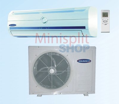 Ductless Mini Split 12000 A/C Cooling + Heat