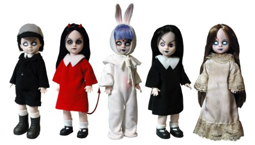 Buy Low Price Mezco Living Dead Dolls 13th Anniversary Series – Case of 5 Figure (B005GQRB7S)