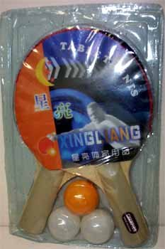 DDI 190631 Table Tennis Paddles with Balls Case Of 72