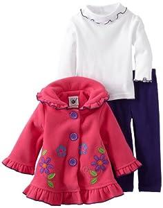 Good Lad Baby-Girls Infant 3pc Jacket Pant Set from Good Lad
