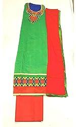 BEAUVILLE VAIIBAVAM Women's Unstiched Salwar Material (BVPCUC_67_Multi_Free Size)