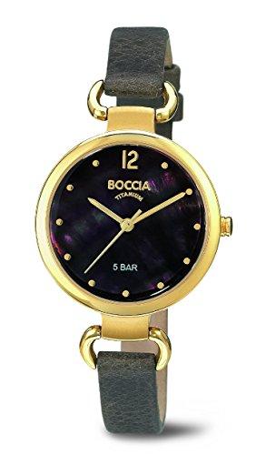 Boccia Ladies'Watch XS Analogue Quartz 3232-04 Leather