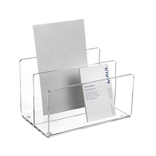 maul-1952005-acryl-kartenstander-2-facher-glasklar