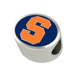 Syracuse Orange Enameled Charms Fit Most Pandora Style Charm Bracelets