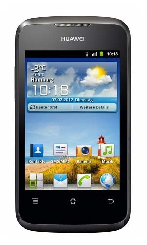 Huawei Ascend Y Android Cell Phone (Pageplus) W/ Free Activation