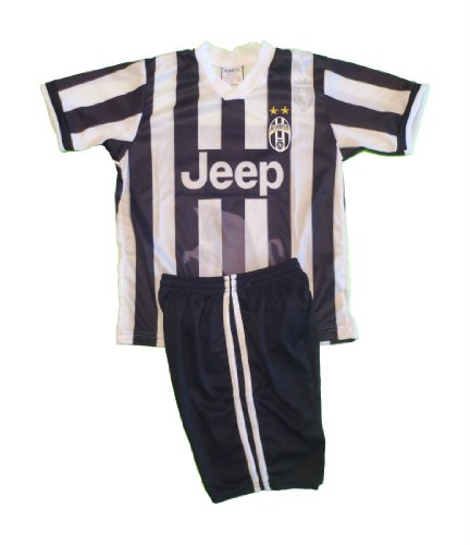 JUVENTUS # 21 PIRLO SOCCER KIDS SET HOME JERSEY & SHORT SIZE 8 .NEW at Amazon.com