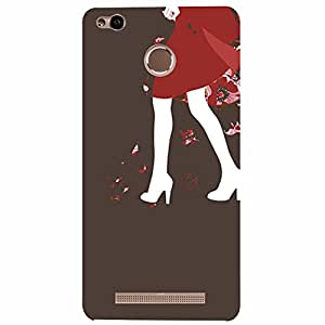 Xiaomi Redmi 3s High Heels Printed back cover