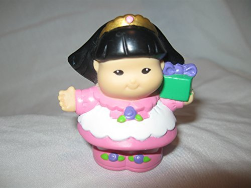 Fisher Price Little People Dressed Up 1st Birthday Party Holiday Sonya Lee With Gifts OOP 2004 - 1