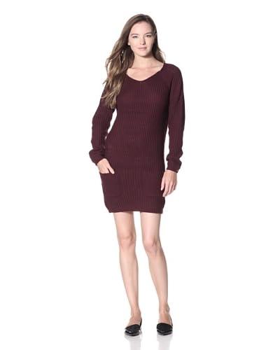 Dex Women's Back-Zip Sweater Dress