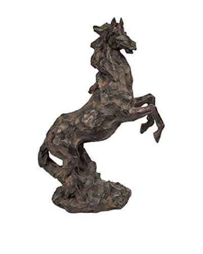 Mustang Statue, Black